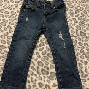 Lee toddler distressed jeans 3T